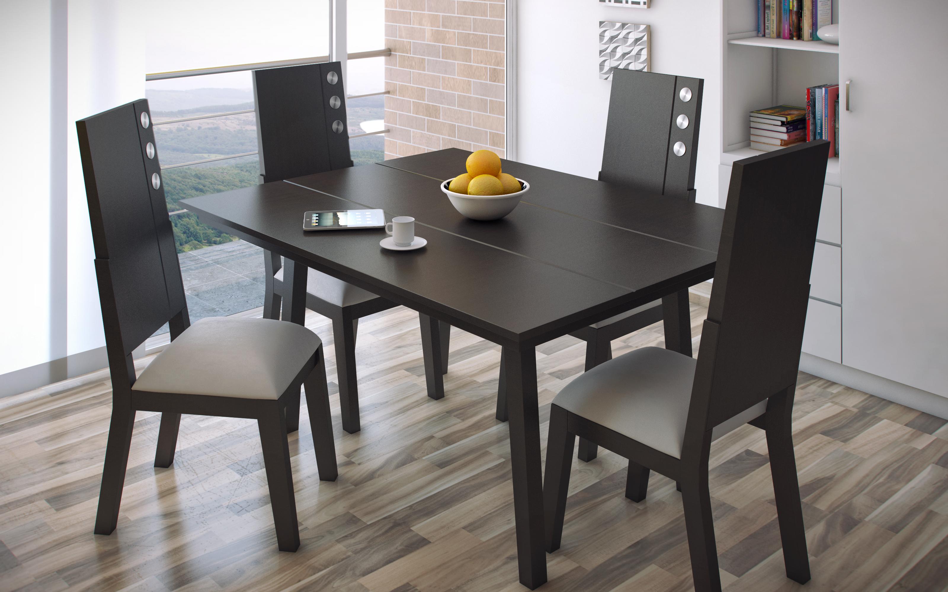 Comedores comedor brasil cuadrado sillas comedores - Sillas para comedores ...